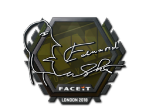 Наклейка | Edward | Лондон 2018