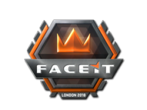 Наклейка | FACEIT | Лондон 2018