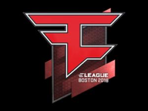 Наклейка | FaZe Clan | Бостон 2018