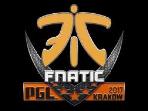 Наклейка | Fnatic | Krakow 2017