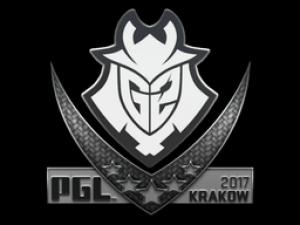 Наклейка | G2 Esports | Krakow 2017