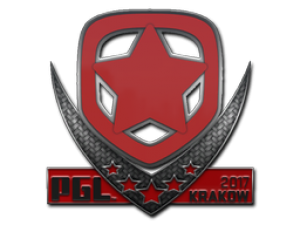 Наклейка | Gambit | Krakow 2017