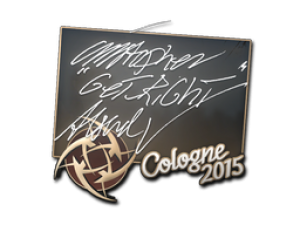 Наклейка | GeT_RiGhT | Кёльн 2015