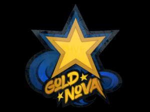 Наклейка | Gold Nova