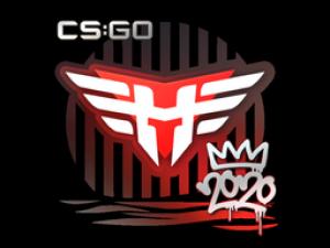 Sticker   Heroic   2020 RMR