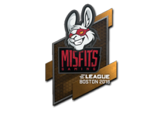 Наклейка | Misfits Gaming | Бостон 2018