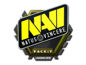 Наклейка | Natus Vincere | Лондон 2018