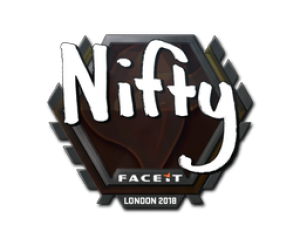 Наклейка | Nifty | Лондон 2018