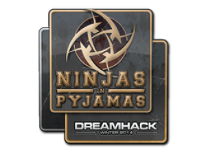 Наклейка | Ninjas in Pyjamas | DreamHack 2014