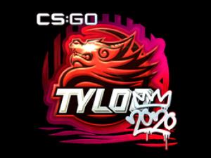 Наклейка | TYLOO (металлическая) | РМР 2020