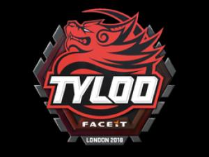 Наклейка | Tyloo | Лондон 2018