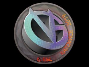 Наклейка | ViCi Gaming (голографическая) | Катовице 2019