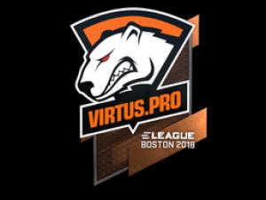 Наклейка | Virtus.Pro | Бостон 2018