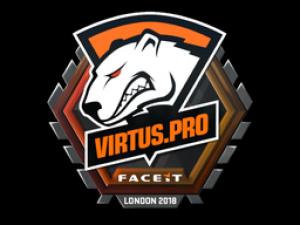 Наклейка | Virtus.Pro | Лондон 2018