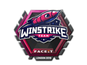 Наклейка | Winstrike Team | Лондон 2018
