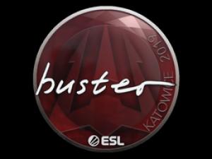 Наклейка | buster | Катовице 2019