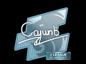 Наклейка | cajunb | Atlanta 2017