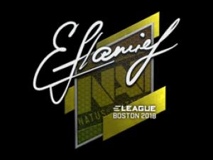 Наклейка | flamie | Бостон 2018
