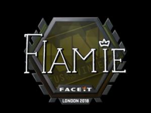 Наклейка | flamie | Лондон 2018