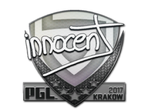 Наклейка | innocent | Krakow 2017