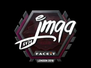 Наклейка | jmqa | Лондон 2018
