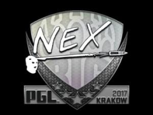 Наклейка | nex | Krakow 2017
