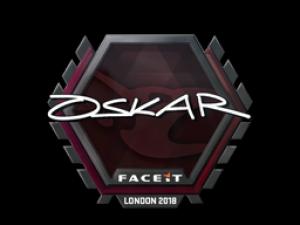 Наклейка | oskar | Лондон 2018