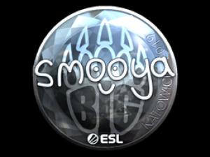 Наклейка | smooya (металлическая) | Катовице 2019