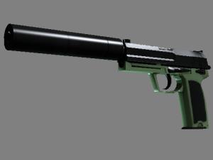 USP-S | Едва зелёный